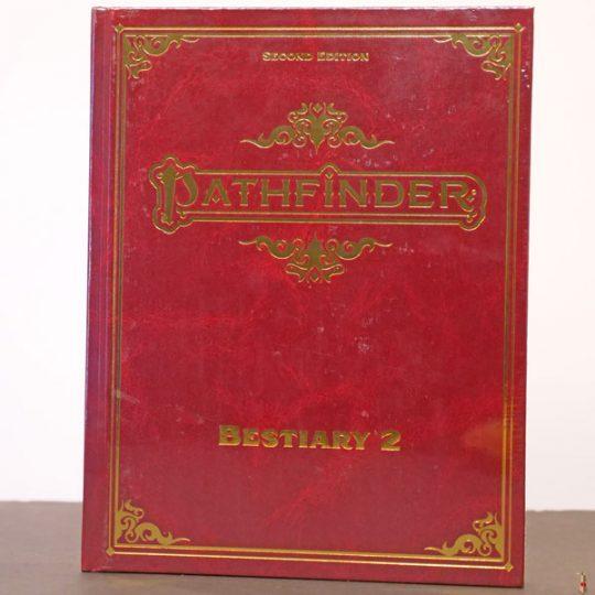 pathfinder 2e bestiary 2 se front