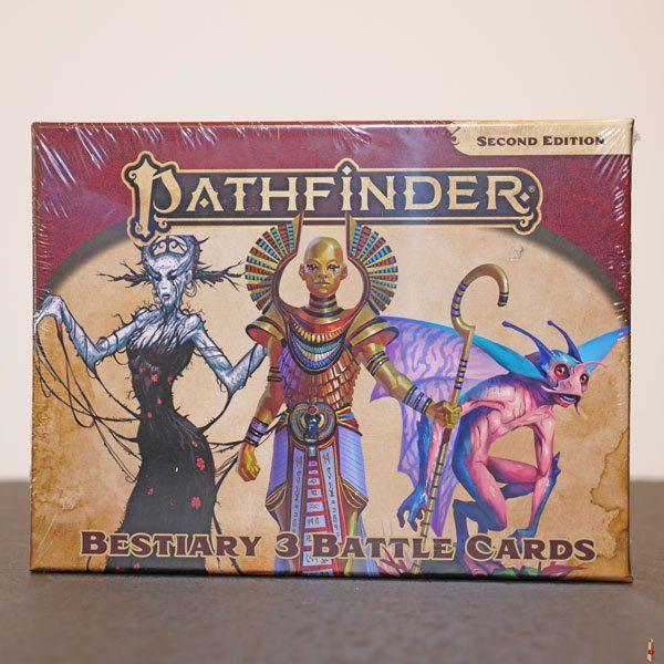 pathfinder 2e bestiary 3 battle card front