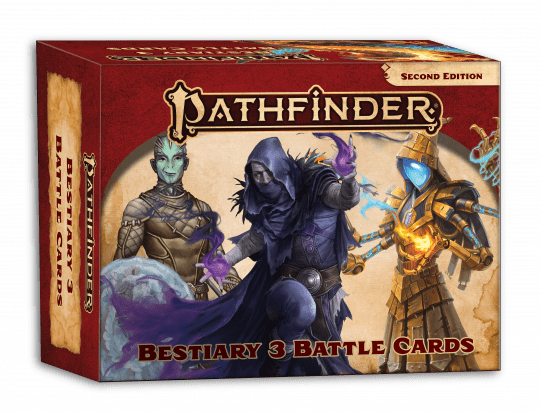 pathfinder 2e bestiary 3 battle cards temp