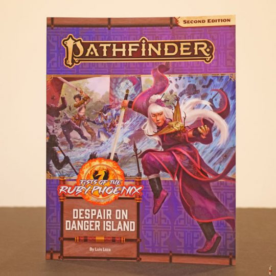 pathfinder 2e despair on danger island front