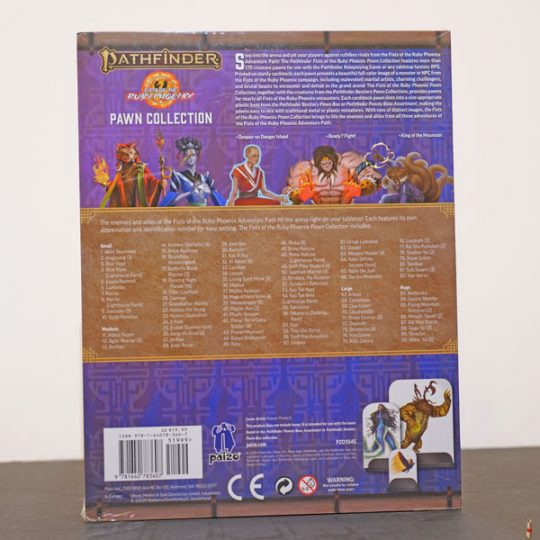 pathfinder 2e fists of ruby phoenix pawn back