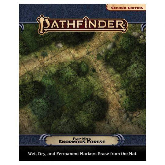pathfinder 2e flip mat enormous forest temp