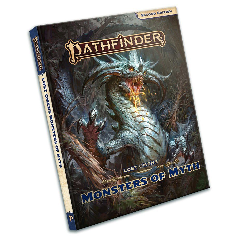 pathfinder 2e lost omens monsters of myth temp