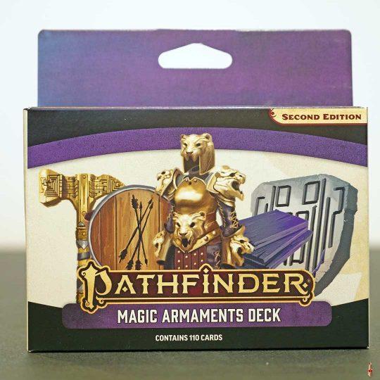 pathfinder 2e magic armaments deck front
