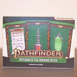 pathfinder 2e potions talismans deck front