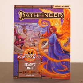 pathfinder 2e ready fight front
