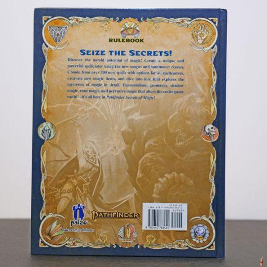pathfinder 2e secrets of magic back