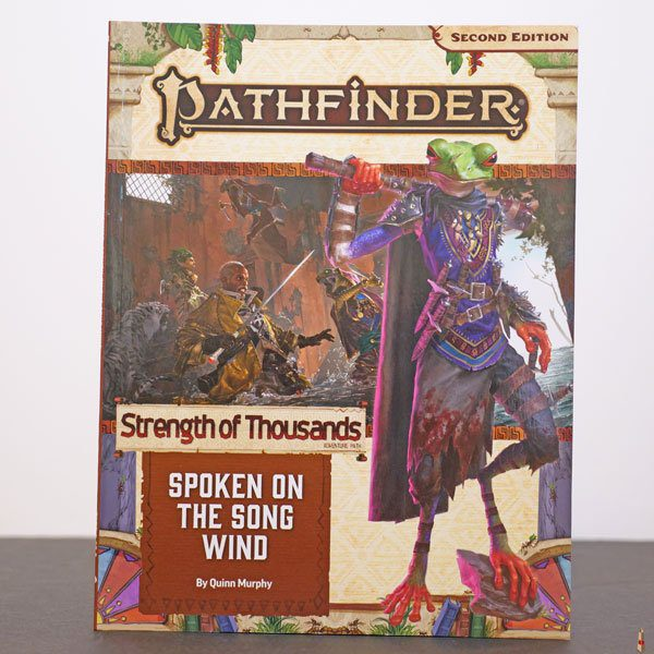 pathfinder 2e spoen on the song wind front