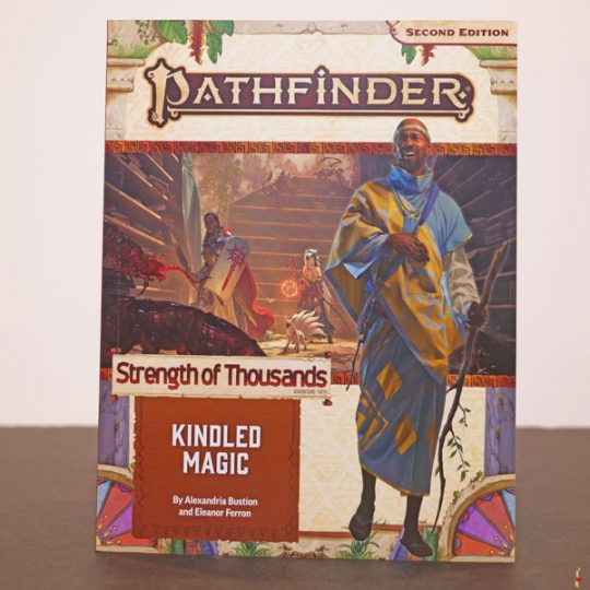 pathfinder 2e strength of thousands kindled magic front