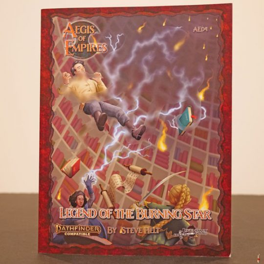pathfinder aegis of empires legend of the burning star front