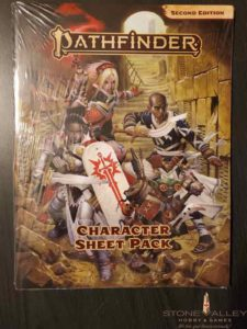 Pathfinder Character Sheet Pack (2nd edition)