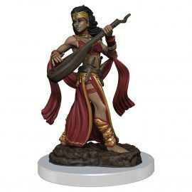 pathfinder female human bard 1
