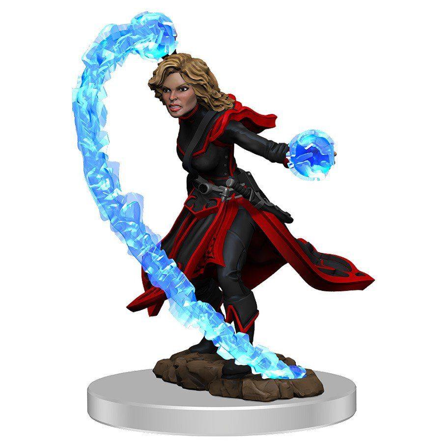 pathfinder female human wizard