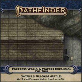 pathfinder flip tile fortress walls towers temp