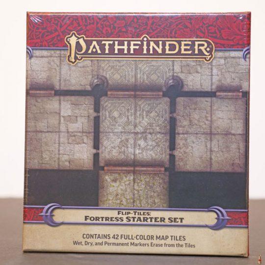 pathfinder flip tiles fortress starter set front