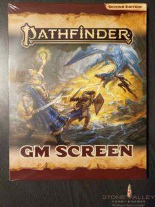 Pathfinder GM Screen (2nd edition)