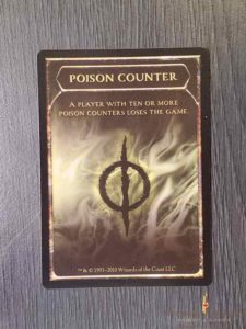 Poison Counter Token (Lot of 10)