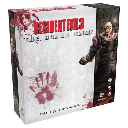 resident evil 3 board game temp