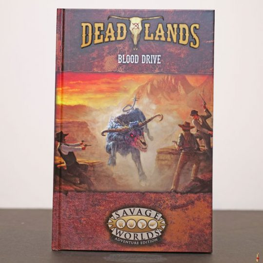 savage worlds blood drive front