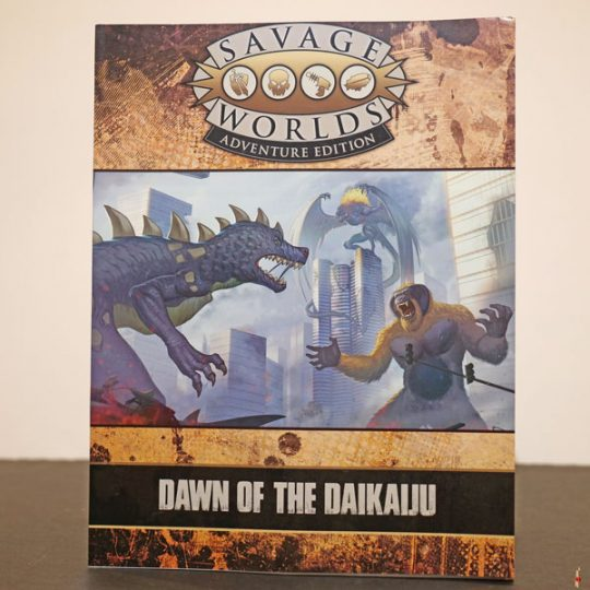 savage worlds dawn of the daikaiju front