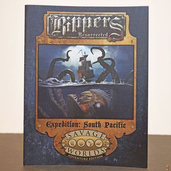 savage worlds rippers resurrected expedition south pacific front