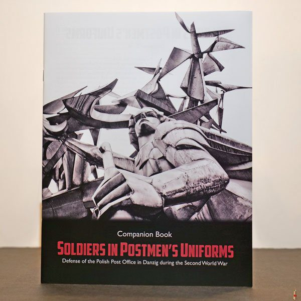 soldiers in postmen uniform companion book front