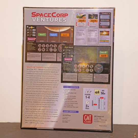 space corp ventures back