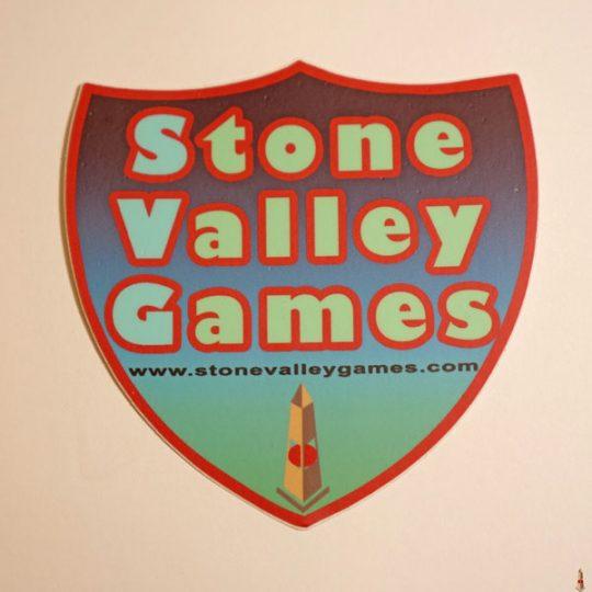 stone valley games shield sticker color