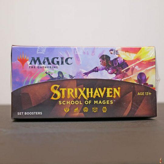 strixhaven set booster front