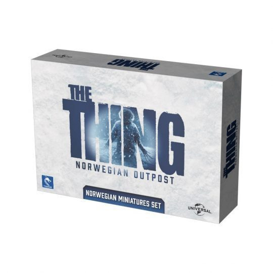 the thing norwegian outpost miniatures set temp