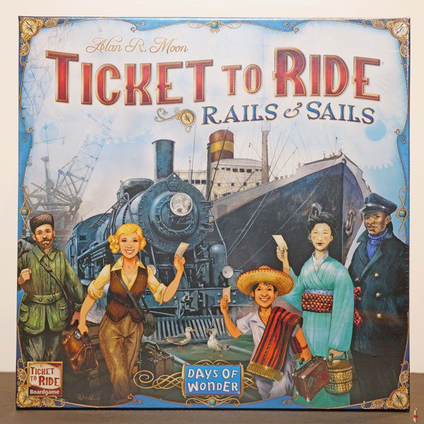 ticket to ride rails sails front