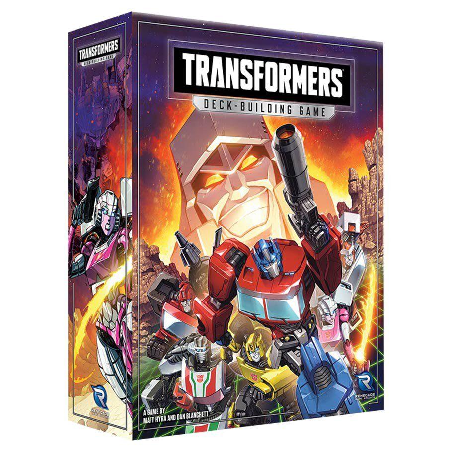 transformers deck building game temp