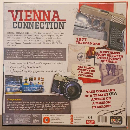 vienna connection back