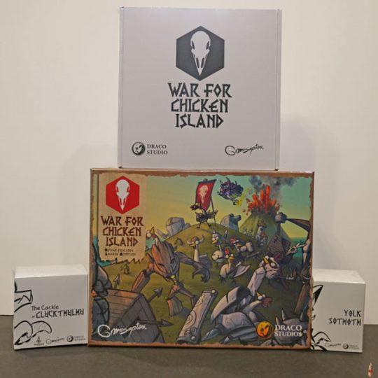 war for chicken island ks front