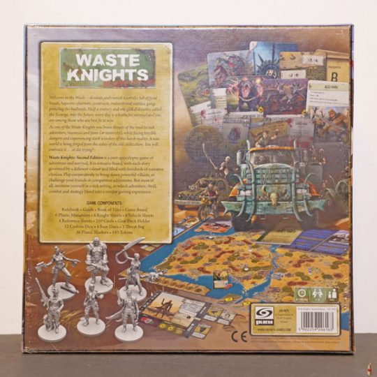 waste knights second edition back