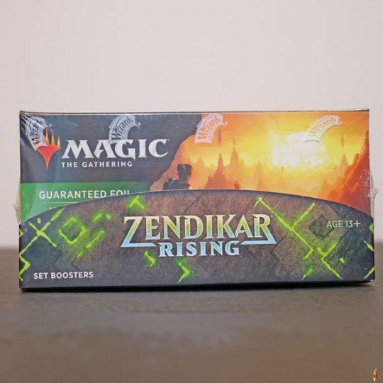 zendikar rising set booster front