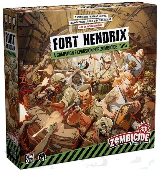 zombicide 2e fort hendrix temp