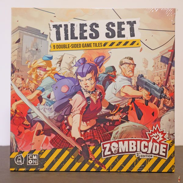 zombicide 2e tile set front