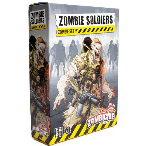 zombicide 2e zombie soldiers set temp
