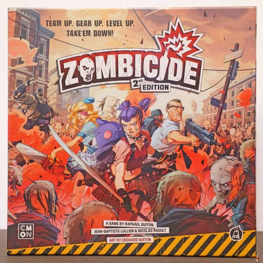 zombicide 2nd edition front